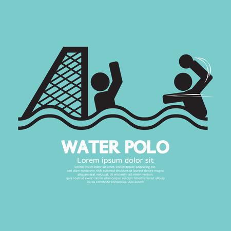 waterpolo: Water Polo Sport Suscribirse Ilustración vectorial