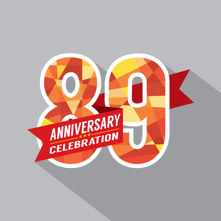 ninth: 89a Years Anniversary Celebration Dise�o