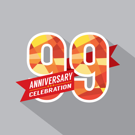 99: 99th Years Anniversary Celebration Design