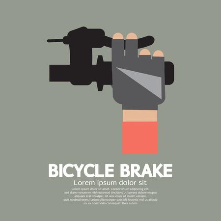 Bicycle Brake Graphic Vector Illustration