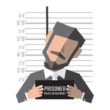 gallows: Death Penalty Concept Vector Illustration