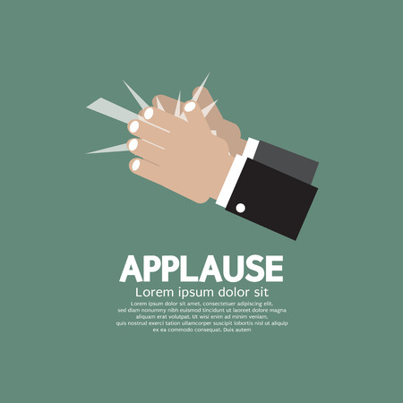 recognition: Applause Vector Illustration