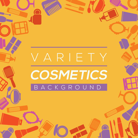 variety: Variety Cosmetics Background Illustration