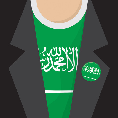 arabia: T-Shirt Flag Saudi Arabia Vector Illustration Illustration