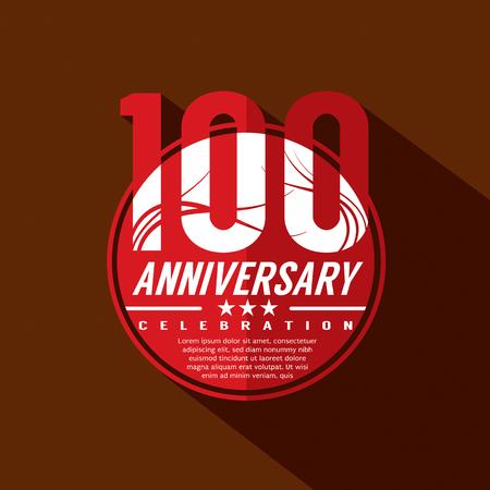 century: 100th Years Anniversary Celebration Design
