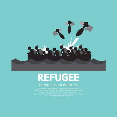 refugee: Refugee Graphic Symbol Vector Illustration Illustration