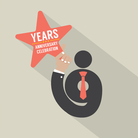 9th: 9th Years Anniversary Typography Design Vector Illustration