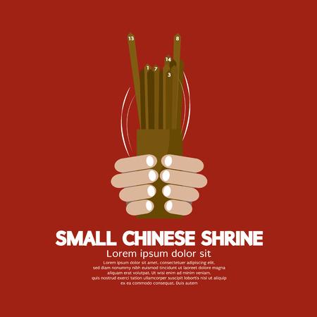 Cast Veel Fortune Van Chinees Vector Illustration