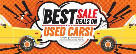used: Best Sale Deal 6250x2500 pixel Banner Vector Illustration Illustration