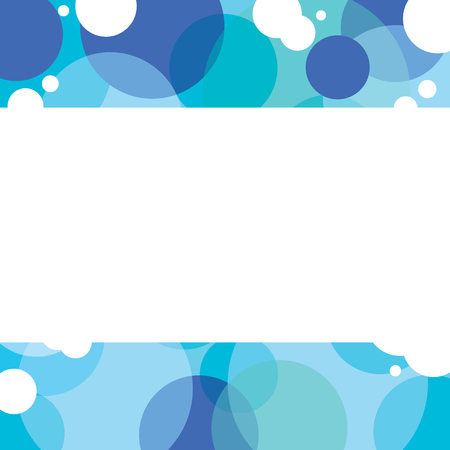 graphic background: Blue Graphic Background With White Space