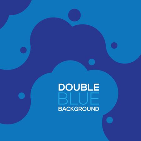graphic illustration: Blue Graphic Background Vector Illustration Illustration