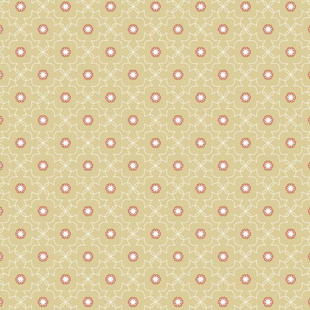 repetition row: Vintage Oriental Style Seamless Pattern Vector Illustration