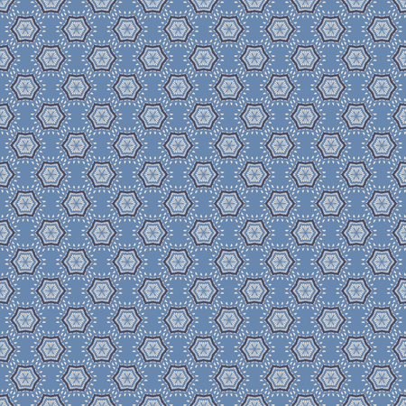 graphic pattern: Blue Graphic Background Seamless Pattern Vector Illustration Illustration