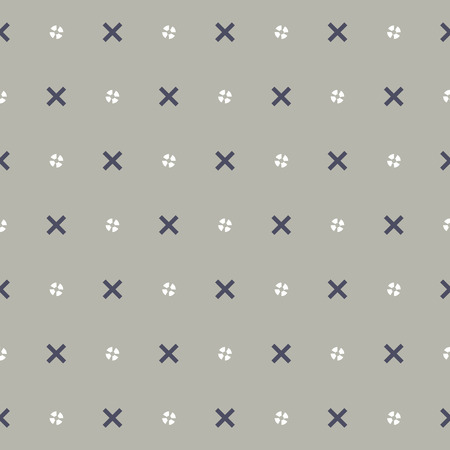 white paper: Simple And Clean Seamless Pattern Vector Illustration
