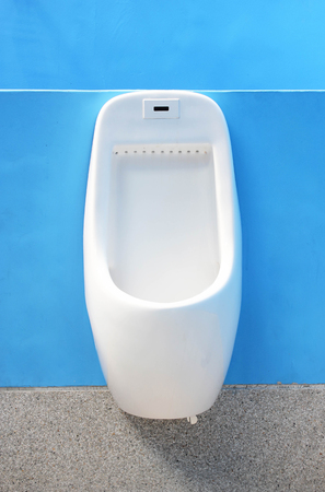Urinals  For Men Only Stock Photo