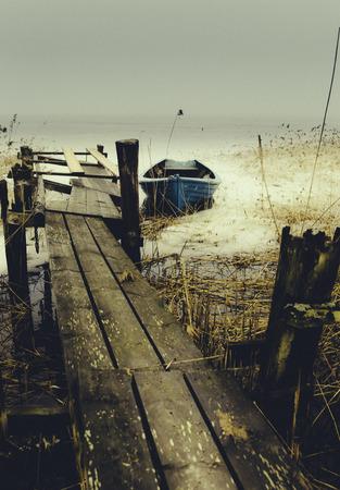Crooked fisherman