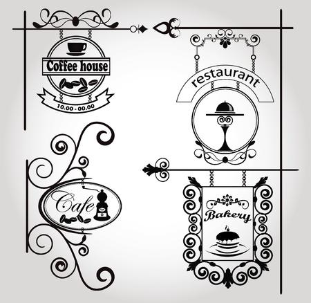 chicchi caff� su sfondo bianco: segni d'epoca