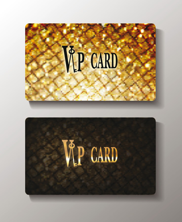 Gold textured cards with rhombuses