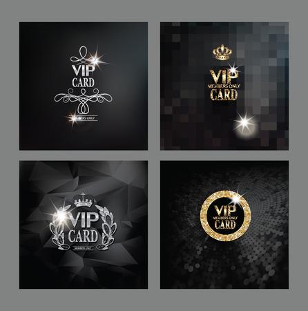 VIP カードのセット
