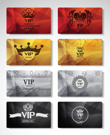 Big set of VIP cards