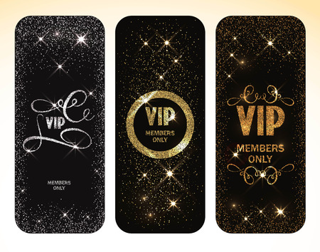 Sparkle VIP gold cards