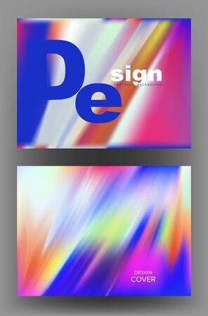 Abstract banners. Colorful bright background. Vector illustration