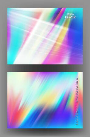 Abstract bright colorful backgrounds. Vector illustration Ilustração