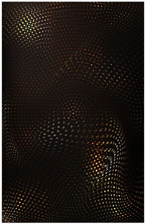 Gold sparkling luxury background with halftone effect. Vector illustration