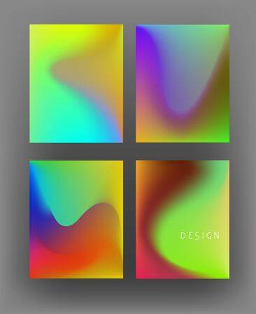 Multicolor abstract banners. Vector illustration Stock fotó - 146742174