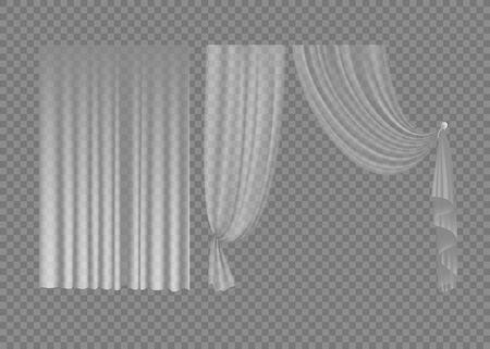 3d, background, curtain, decor, decoration, design, drapery, drapes, fabric, frame, home, illustration, interior, isolated, path, room, satin, silk, textile, tule, white, window