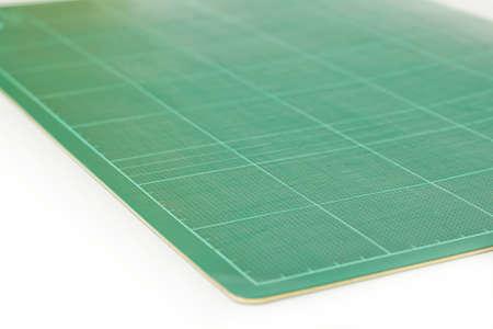 SELF HEALING: Office cutting mat Stock Photo