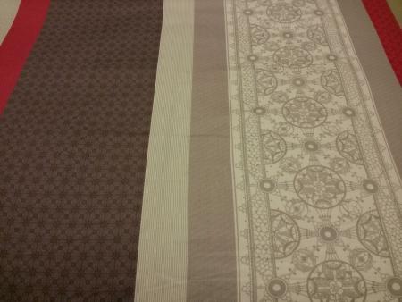 bedspread: Silk bedspread Stock Photo