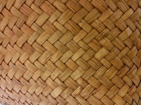 weave: Woven wood strips Stock Photo