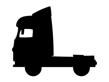 Truck silhouette Stock Vector - 11446582
