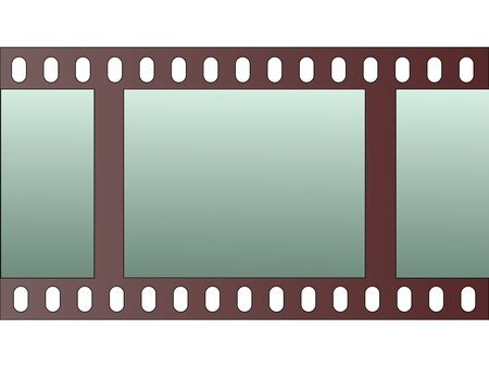 cinema film: film strip