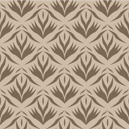 Seamless wallpaper Stock Vector - 11446544