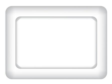place mat: paper saucer Illustration