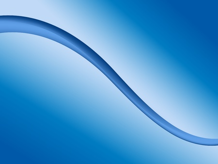 smooth curve design: Abstract blue wave