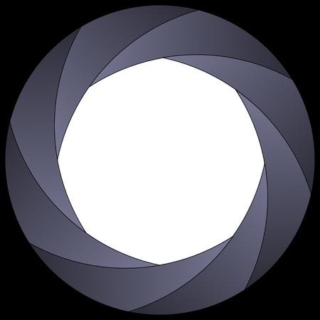 camera shutter: shutter frame