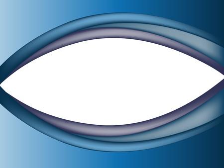 Abstract blue eye Stock Vector - 11469067