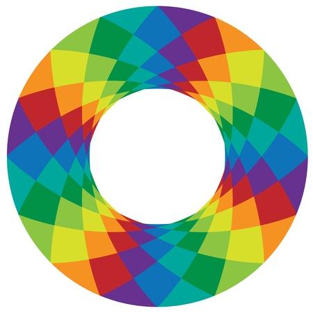rainbow design element Иллюстрация