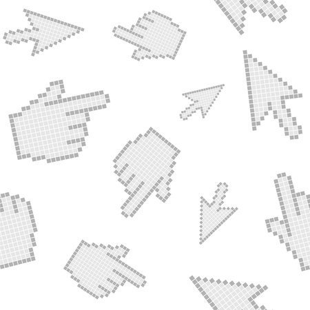 cursors seamless Vector
