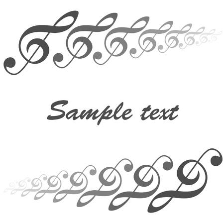 chiave di violino: tema musicale