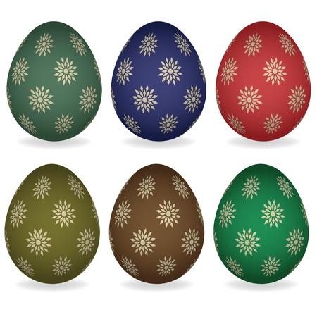 vector easter eggs Vector