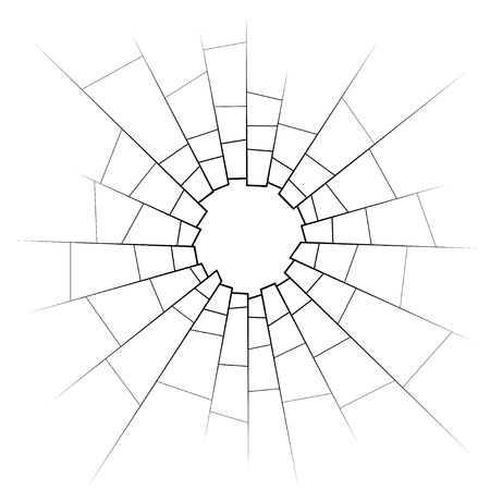impacts: vidrios rotos