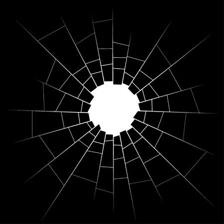glasscherben: Glasscherben Illustration