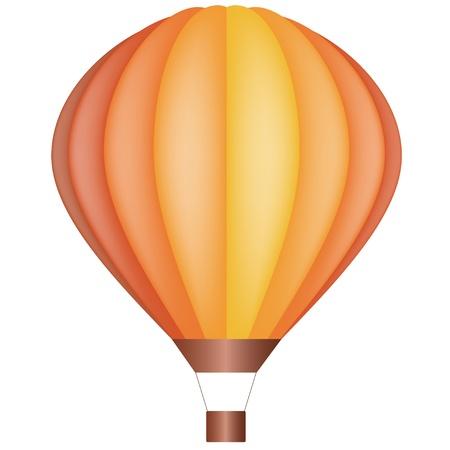vector air balloon Vector