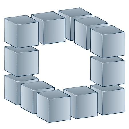 rubik: vector 3d cube