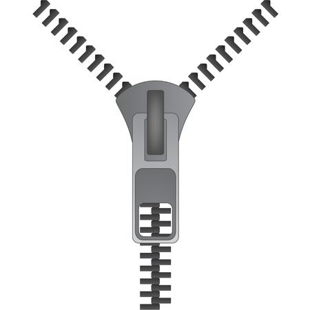 vector zipper Vector