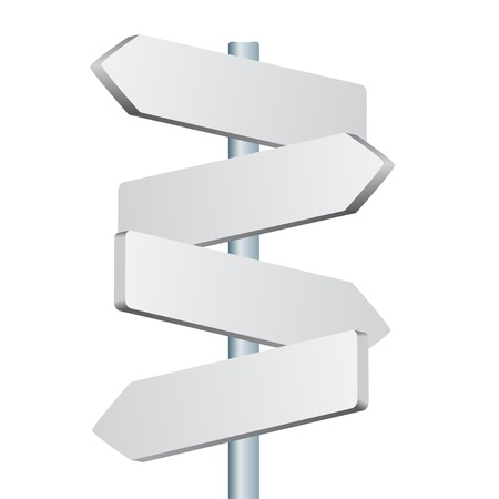 directions: vector direction sign Illustration